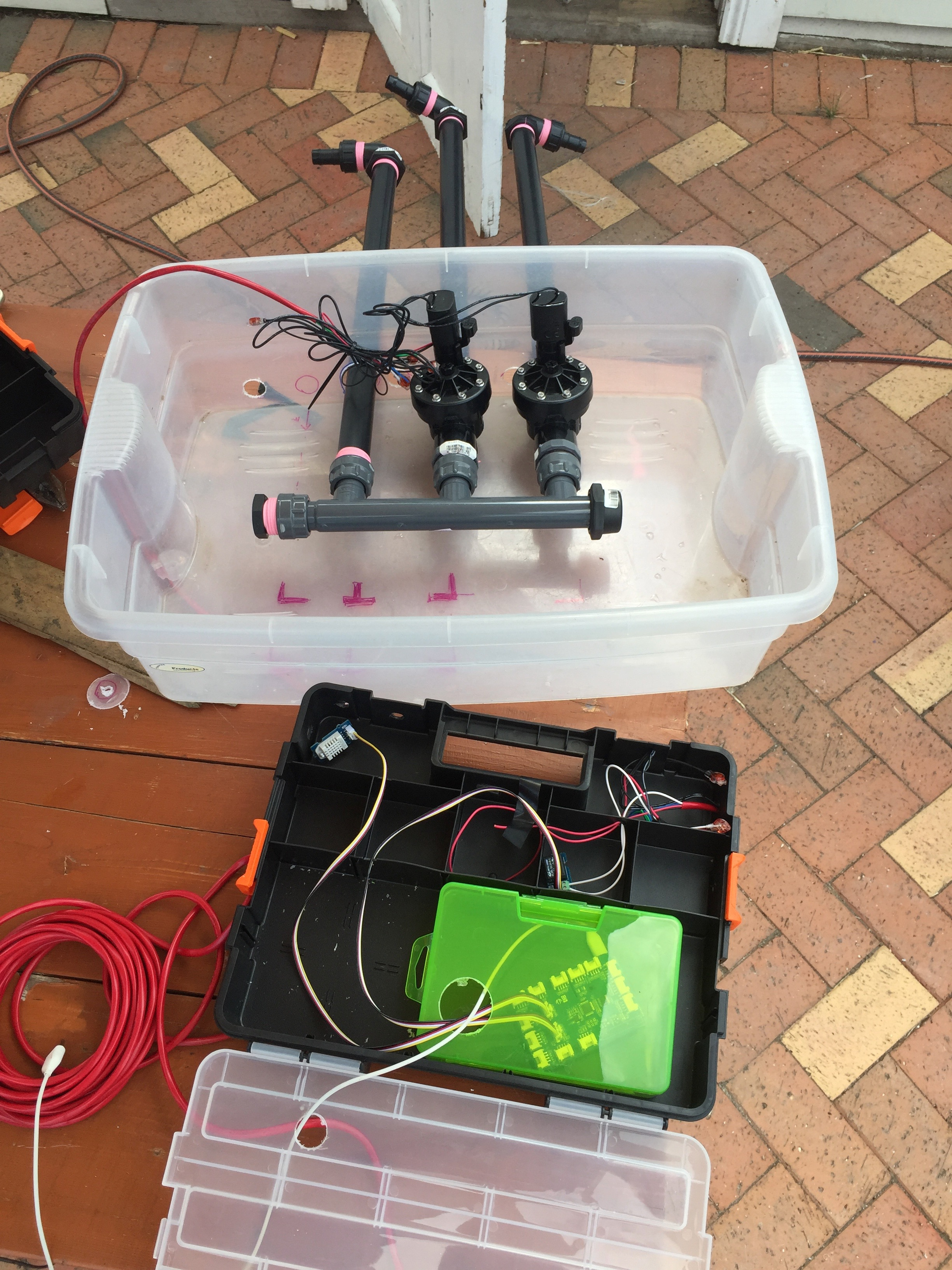 Garden Watering Automation | Paul Tagell